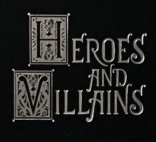 Once Upon A Time - Heroes and Villains Sticker