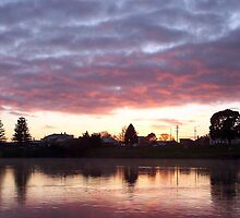 Nagambie Sunrise by Tristen Murray