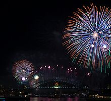 Fireworks 2009 (2) by Carol Ritchie