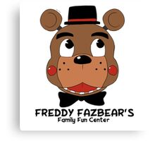 Freddy Fazbear's Canvas Print