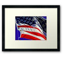 Flag Day! Framed Print