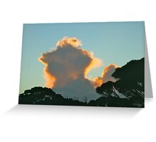 Very late afternoon Greeting Card