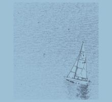 sail boat t-shirt by faithie