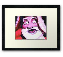 Santa..Doctor Style Framed Print