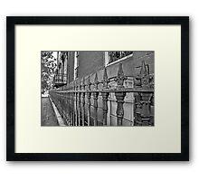 Wrought Iron  Framed Print