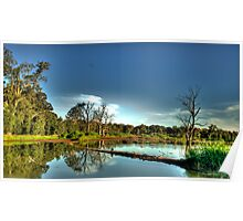 Wetlands Magic - Wonga Wetlands, Albury NSW - The HDR Experience Poster
