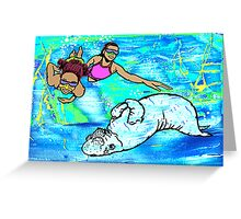 The Dugong Greeting Card