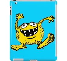 Cute Cartoon Yellow Monster by Cheerful Madness!! iPad Case/Skin