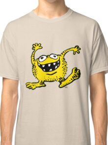 Cute Cartoon Yellow Monster by Cheerful Madness!! Classic T-Shirt