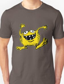 Cute Cartoon Yellow Monster by Cheerful Madness!! T-Shirt