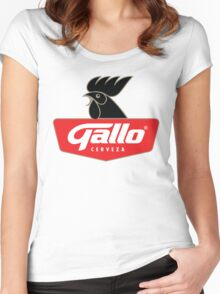 Gallo Cerveza - Best Beer In Guatemala Central America Women's Fitted Scoop T-Shirt