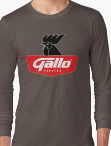 Gallo Cerveza - Best Beer In Guatemala Central America Long Sleeve T-Shirt