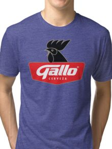 Gallo Cerveza - Best Beer In Guatemala Central America Tri-blend T-Shirt
