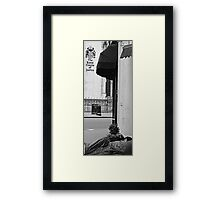 Outside the Royal Courts of Justice Framed Print