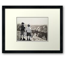 Back to the Wild Framed Print