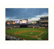 Yankee Stadium Subway Series Art Print