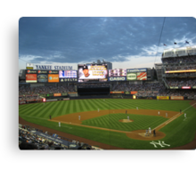 Yankee Stadium Subway Series Canvas Print