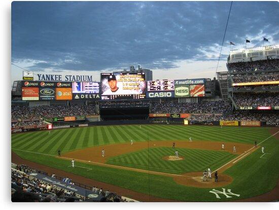 Yankee Stadium Subway Series by Jacker