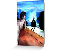Who Am I? Greeting Card