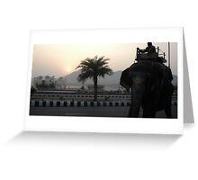 Jaipur Dawn Greeting Card