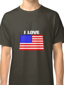 I love USA Classic T-Shirt