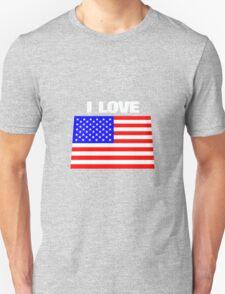 I love USA T-Shirt