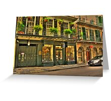 Royal St - New Orleans Greeting Card