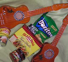 BURITO FURITTO TORTILLA TEXAN ROMANCE UKELELE MEAL DEAL by mando13