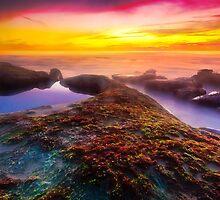 Sunset in La Jolla by bengraham