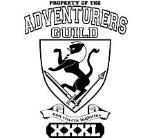Xcrawl Adventurers Guild  Photographic Print
