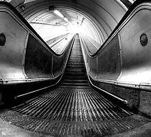escalator by james  thow