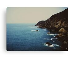 La Quebrada  Canvas Print