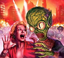 Outer Space Alien Attack by Scott Jackson