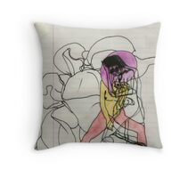 Sin  Throw Pillow