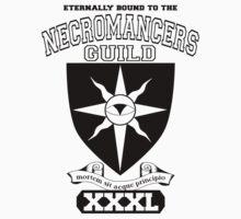 Xcrawl Necromancers Guild by Pandabrett