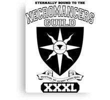 Xcrawl Necromancers Guild Canvas Print