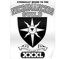 Xcrawl Necromancers Guild Poster