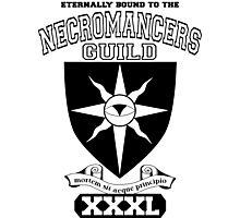 Xcrawl Necromancers Guild Photographic Print