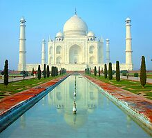 Taj Mahal-World Heritage by Mukesh Srivastava