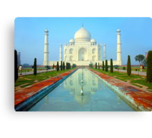 Taj Mahal-World Heritage Canvas Print