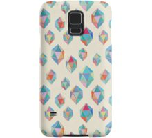 Floating Gems - a pattern of painted polygonal shapes Samsung Galaxy Case/Skin