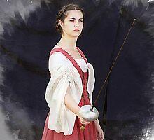 Lady Rapier by Samuel Vega