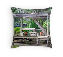 On the St. Johns River Throw Pillow