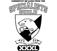 Xcrawl Specialists Guild Photographic Print