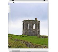 Landscape of ruined building (folly) Howood Scotland iPad Case/Skin