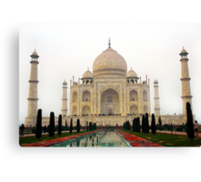 Taj Mahal-The Proud of India Canvas Print