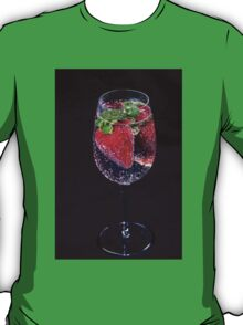 A Refreshing Glass Of Strawberries T-Shirt