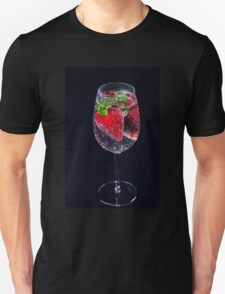 A Refreshing Glass Of Strawberries T-Shirt