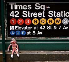 Sam On Broadway by Terry Arcia