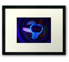 Tron Arcade Framed Print